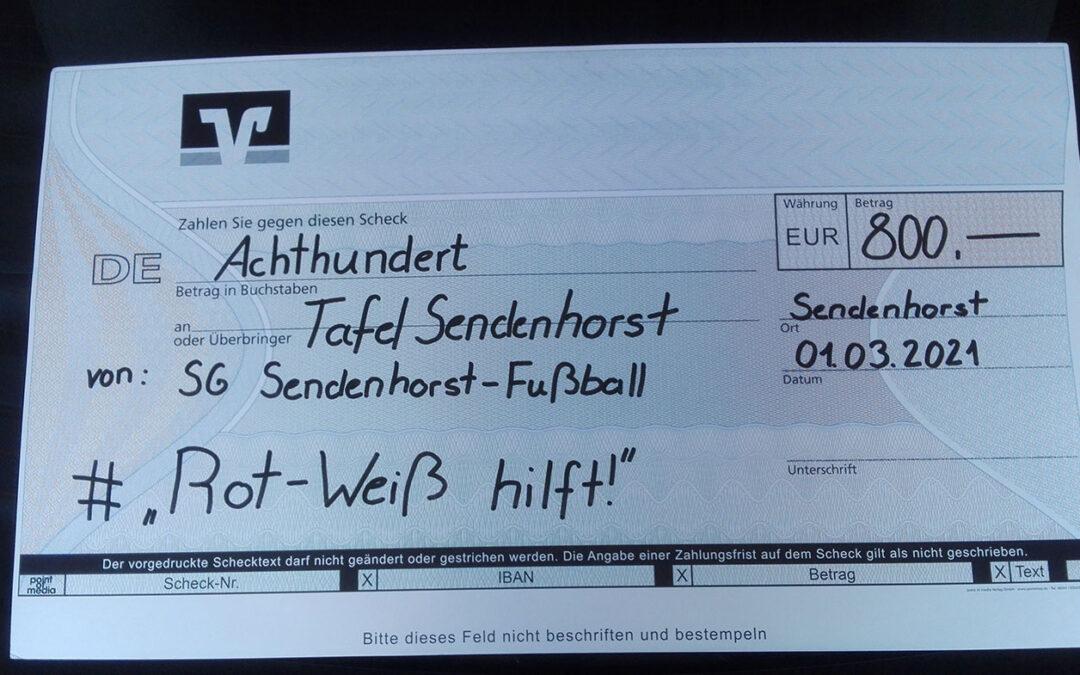 Spende SG Sendenhorst